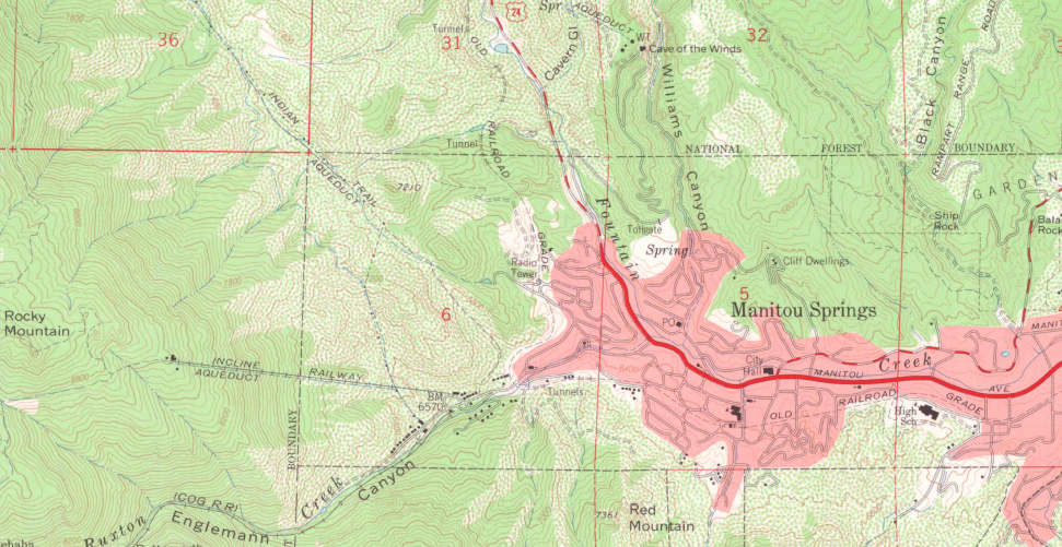 How To Read A USGS Topo Map Gaia GPS - Topographical us map