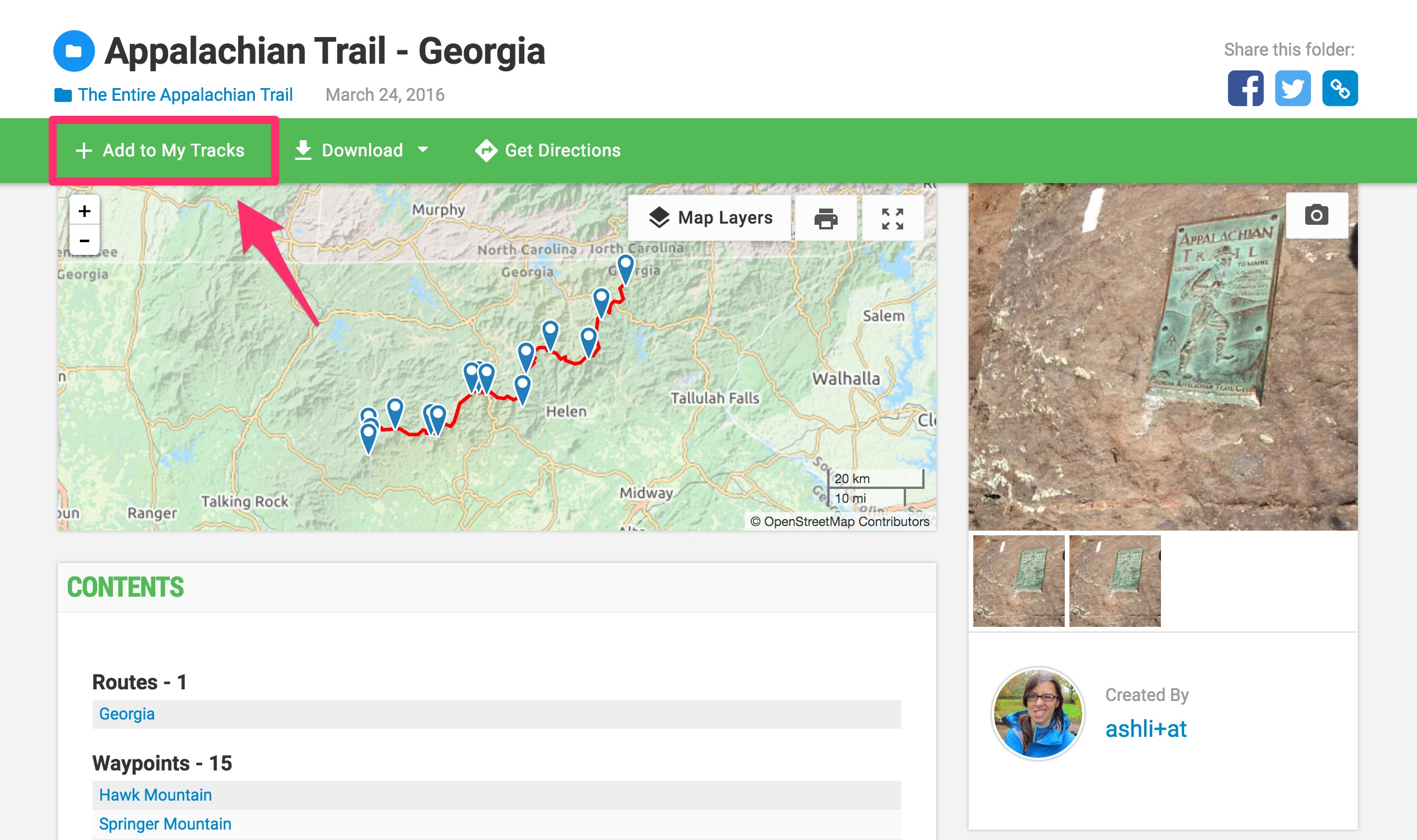Maps And Tracks For The Entire Appalachian Trail Gaia GPS - Appalachian trail new hampshire map
