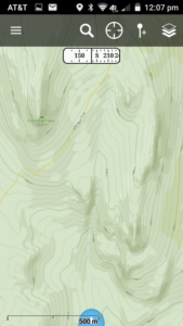 Yosemite National Park, California as it appears on Mapbox HD