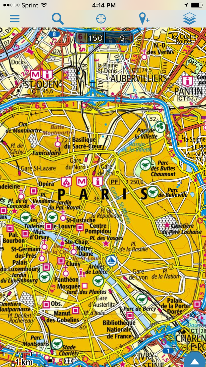 France Ign Topo Maps Return To Gaia Gps Gaia Gps
