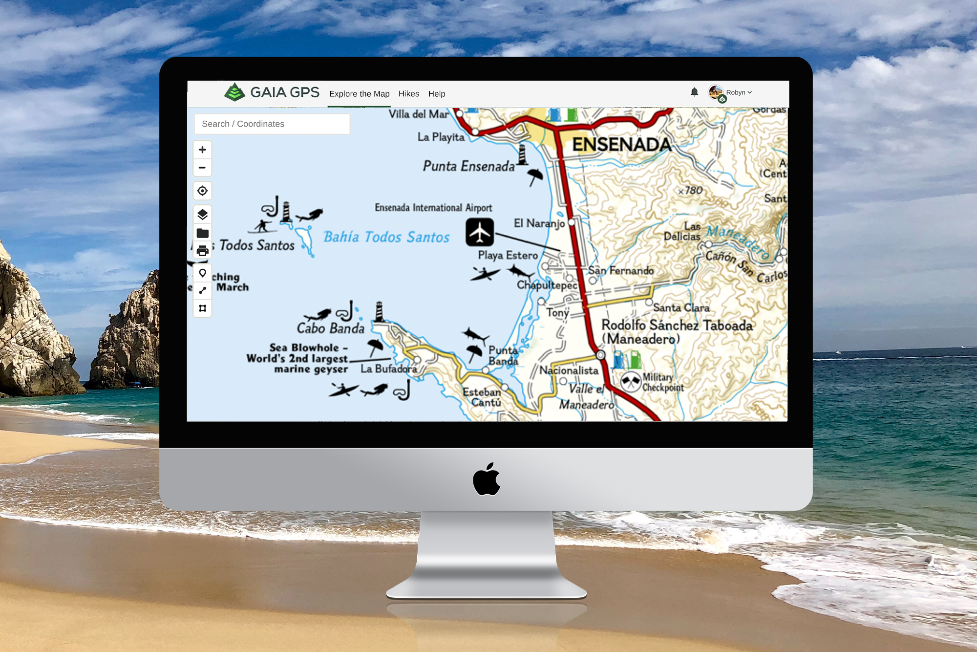 Picture of: New Baja California Maps From National Geographic Gaia Gps